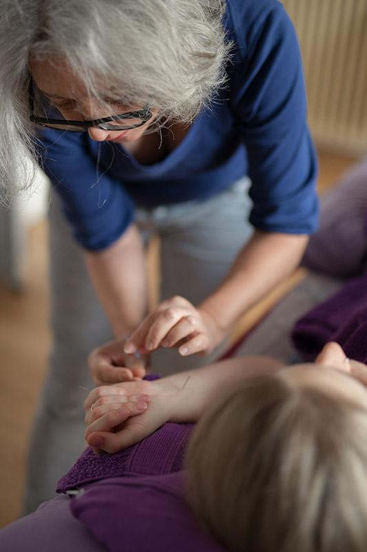 Geburtseinleitende Akupunktur